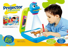 3 en 1 Proyector de pintura dibujo y colorido conjunto de Juguete Educativo Juego De Aprendizaje