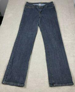 Venezia Jeans Women's Stretch Boot Cut Blue Jeans Size 2 Tall