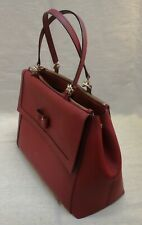 Kate Spade Hazel Court Mason Leather Tote Bag, Merlot