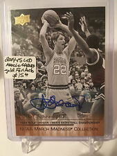2014-15 Upper Deck March Madness Collection Gold Foil AUTO #DS1 Detlef Schrempf