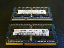 HYNIX PC3 12800 HMT351S6CFR8C-PB N0 AA Portatile 8GB 2X4GB 1600MHZ 204PIN SODIMM