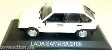 Lada Samara 2109 Camión Blanco Nuevo 029 1:43 Μ