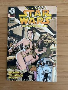Classic Star Wars Return Of The Jedi Comic Book One