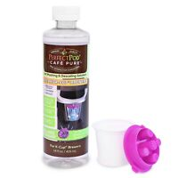 Perfect Pod Cafe Pure Descaling Solution Jet Washer Kit for Keurig Coffee Maker