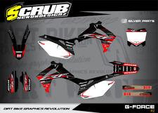 Honda CRF Dekor Grafik set 450 R 2013 2014 2015 2016 '13 - '16 - SCRUB MX