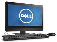 """DELL 20"""" LED 2.50GHz DUAL CORE 8GB 1TB HD WINDOWS 7 PRO ALL-IN-ONE PC + OFFICE"""