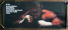 MIKE TYSON vs Peter McNeeley Boxing Poster Vintage 1995 Fight Promotional - RARE