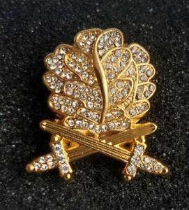 Eichenlaub mit Schwertern zum Ritterkreuz des Eisernen Kreuzes 2 WK Orden gold