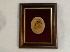 Israeli Official State Medal THE KISS by Abel Pann Bronze 75x60 mm Framed New