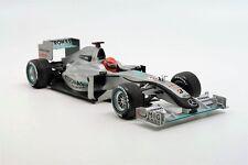 Minichamps F1 Mercedes MGP W01 Petronas Michael Schumacher 2010 Gray 1/18