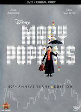 Mary Poppins DVD 50th Anniversary Edition DVD New Disney Free shipping
