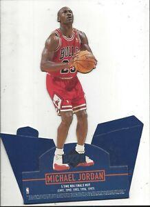 1997 Upper Deck Michael Jordan 5X NBA Finals MVP Standup (New old stock)