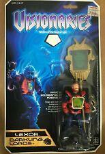 Hasbro Visionaries Darkling Lords Lexor Vintage 1987 Action Figure NEW MOSC C-9!