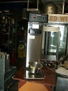 BUNN AUTOMATIC ICE TEA MAKER,120V, ALL S/STEEL, NO TANK, NICE, 900 ITEMS ON E BA