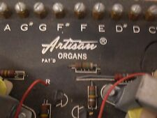 Artisan Organ Flute Board In Multiple Keys Vintage Rare PCB