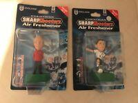Corinthian Sven Eriksson & Steven Gerrard Sharp Shooters Figures Air Freshener