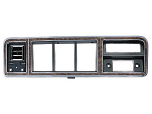 New 1973-79 F100 Finish Panel Instrument Cluster Wood AC Bronco F250 F350 Ford