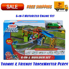 Thomas & Friends TrackMaster Percy 6-in-1 Motorized Engine Set, Age 3 - 7 Years