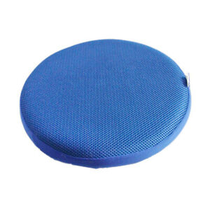 Round Bar Stool Cover Chair Slipcover Protector Cushion Pad 16 Inch Blue