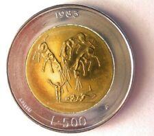 1983 SAN MARINO 500 LIRE - AU - Excellent Coin - FREE SHIP - BIN #175