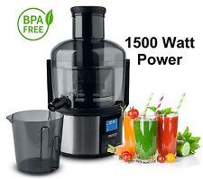 Entsafter Fruchtpresse Juicer Obstpresse Power Saftpresse 1500 Watt elektrischer