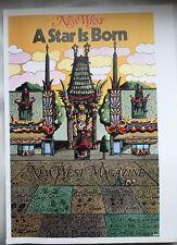 Milton Glaser New West Magazine Pop Art Poster 1976 Pop art 11