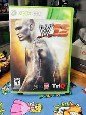 WWE '12 (Microsoft Xbox 360, 2011)Complete And Tested