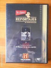 DVD CARRERA A LA LUNA: EL FRACASO NO ES UNA OPCION - REPORTAJES DE INVESTIGACION