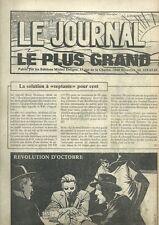 EO BD MICHEL DELIGNE + SÉRIE COMPLÈTE LE JOURNAL ILLUSTRÉ LE PLUS GRAND DU MONDE