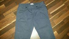 Calvin Klein Damen Hose Gr.36/38 dunkel blau Jeans 7/8 Länge short