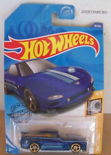 HOT WHEELS HW TURBO  '95 MAZDA RX-7 IN BLUE WITH RACING STRIPES #4/5 OR #43/250