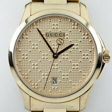 c1a2f4e66dc Gucci G-Timeless Gold-Tone Stainless Steel Women s Quartz Watch 126.4