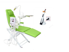 Dental Portable Mobile Chair Turbine Unit 2H + 5W Wireless LED.B Curing Light