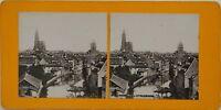 Panorama Da Strasburgo Francia Foto Stereo Vintage Analogica c1900