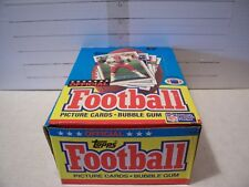 1989 TOPPS FOOTBALL 36 PACK BOX -- 117 ROOKIES & 48 HALL OF FAMERS IN SET !!