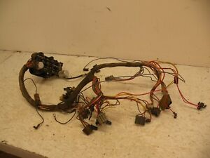 74-81 JEEP GRAND WAGONEER CHEROKEE CHIEF UNDERDASH WIRE HARNESS FUSE BLOCK J10