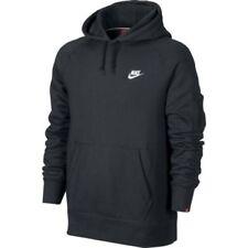 Sudaderas de hombre Nike de poliéster de color principal negro