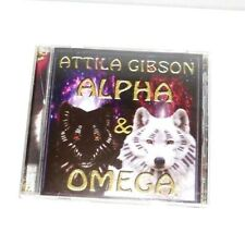 Attila Gibson Alpha and Omega (CD) Piano Extremely Rare HTF*