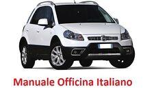 Fiat SEDICI 16 (2005/2014)  Manuale Officina ITALIANO SU CD