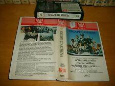 Betamax *ESCAPE TO ATHENA* 1979 Pre Cert - 20th Century Fox Library 1st Edition!