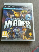 Playstation Move Heroes PS3 Playstation 3 (Move Required) **FREE UK POSTAGE**