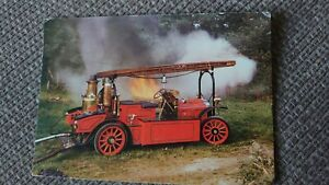 1907 Gobron-Brillie Fire Engine - National Motor Museum Postcard