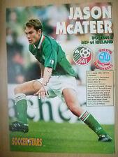 Original Hand Signed Press Cutting- JASON McATEER, Liverpool FC (apx. A 4)