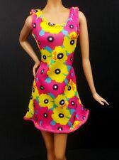 2017 Barbie Clothing Fashionistas & Model Muse Floral Logo Summer Dress