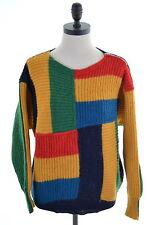 Iceberg Womens Jumper Sweater Size 18 XL Multi Alpaca Wool