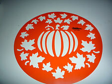 Wilton PUMPKIN PATCH Cake Stencil Kit Fall, Halloween
