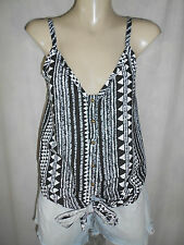 ALIVE GIRL Black Tribal Top Sz 6 BNWT BUY Any 5 Items = Free Post