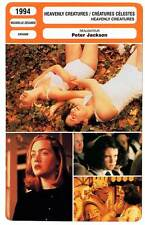 FICHE CINEMA : HEAVENLY CREATURES - Winslet,Jackson 1994 Créatures Célestes