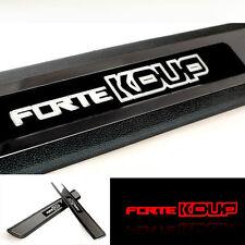 [Kspeed] (Fits: KIA Forte Koup 2009-2013) Premium LED Door Sill Step Scuff Plate