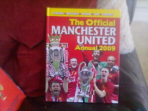 The Official Manchester United Annual 2009 Hardback English Orion 2008